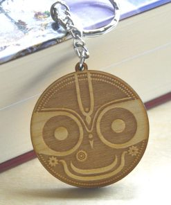 Jaganatha keychain tilaka engraved