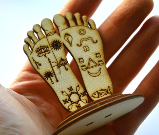 Krishna Lotus feet Statue