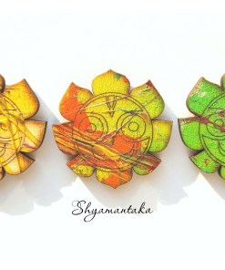 Jaganatha art wall decor color