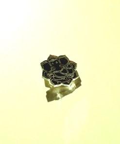 Ganesh Brooch Laser Cut Mirror Jewelry The Hindu God 3