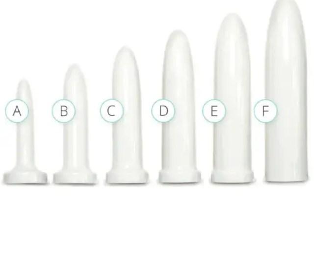 Vaginismus Vaginal Dilator Set Pack Of 6 Different Sizes