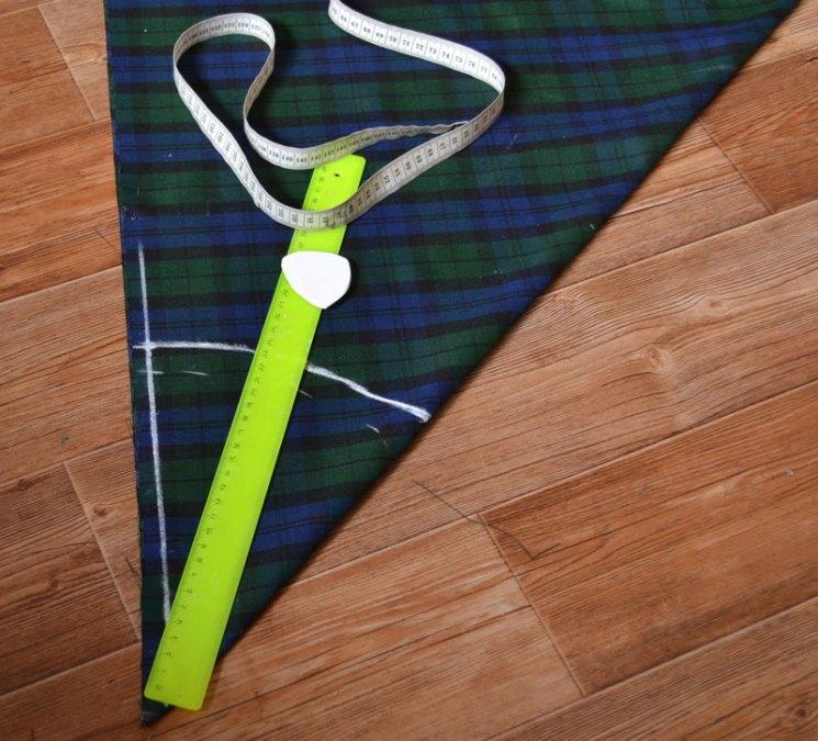 Расчеты для построения выкройки юбки-полусолнце