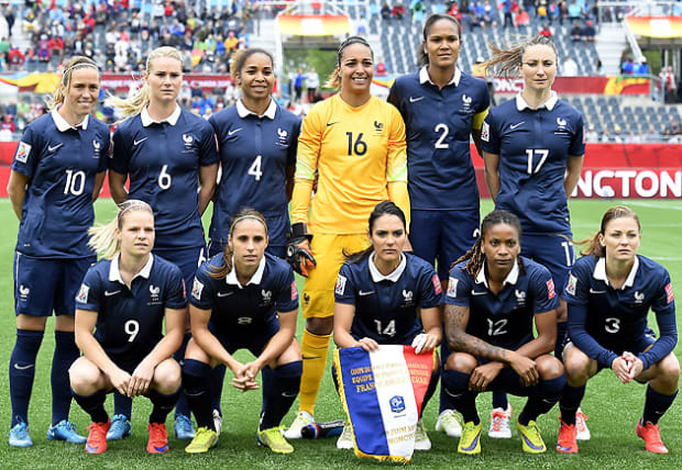 Can you hear the drumlines rattling? France S Jessica Houara Showcases The Cultural Power Of The Hijab Sports Illustrated