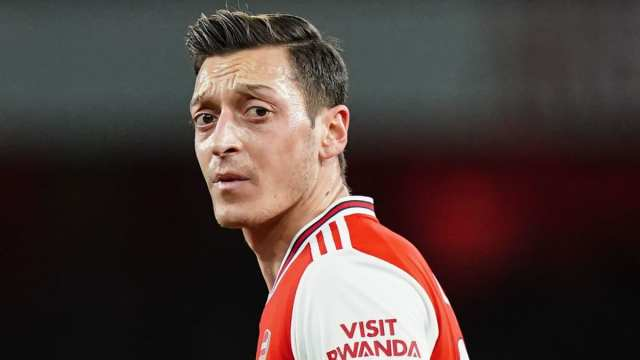 Mesut Ozil 'Deeply Disappointed' By Arsenal Squad Omission