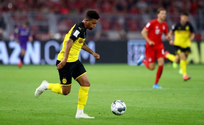 Jadon Sancho 'Signs New Dortmund Contract' Amid Interest ...