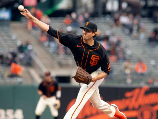Kevin Gausman is anchoring the surprisingly great Giants pitching staff.