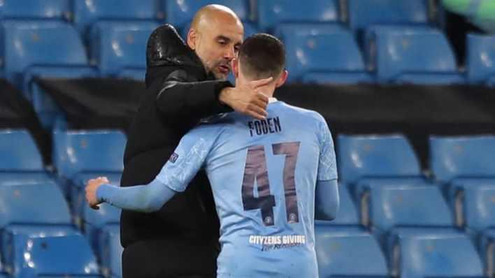 Pep Guardiola leads Man City to the Champions League final