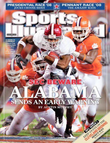 Glenn Coffee Sports Illustrated cover, Sept. 8, 2008