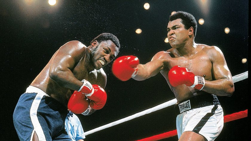 years later ali and frazier are still slugging it out