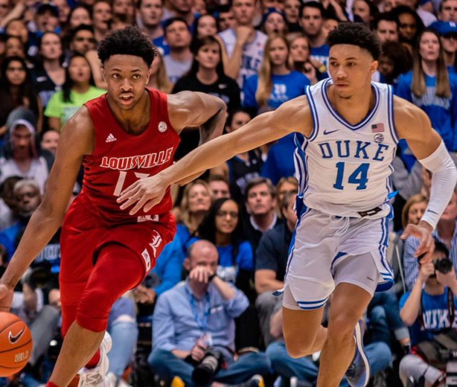 College Basketball Stock Report Louisville Up Duke Down Sports