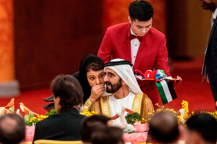 The sheikh has approached the Derby with pridefulness, arrogance and a controlling instinct—characteristics that also shape his family life.