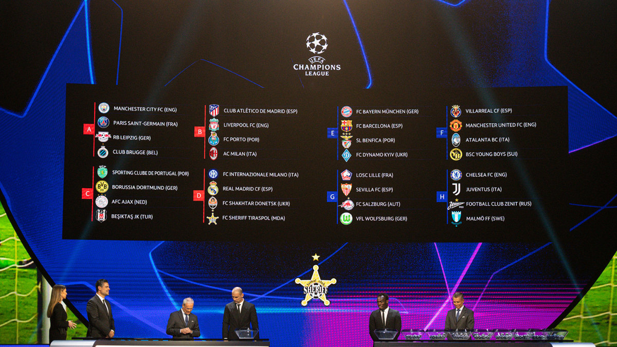 Get the latest champions league news, fixtures, results, video highlights, transfers and more from sky sports. Champions League Predictions Breakdown For 2021 22 Group Stage Sports Illustrated