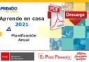 EXCELENTE PROPUESTA DE PLANIFICACIÓN ANUAL 2021 -APRENDO EN CASA [INICIAL, PRIMARIA, Y SECUNDARIA][DESCARGA AQUÍ]