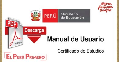 ESTUDIANTES: Descarga Aquí el Manual de usuario del CERTIFICADO DE ESTUDIOS [Infórmate aquí]