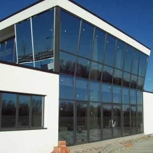 Facciata torre di controllo aeroporto di Rivanazzano