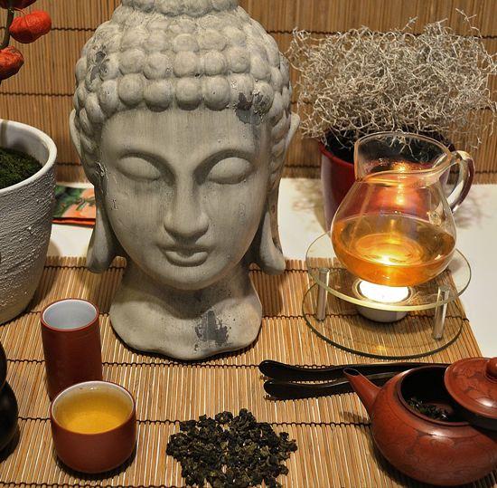 DMS Si Ji Chun Four Seasons Oolong tea with Buddha