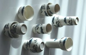'Sketches 2', Aroma / Drinking Cup Set, 12-piece, ceramics
