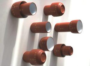 'Earthen 2', Aroma Cup 12-piece ceramic Tea Set