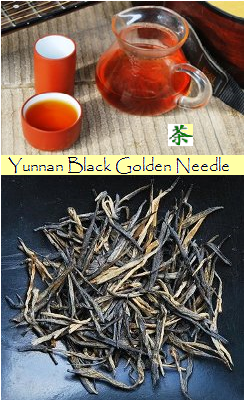 Dian Hong Black & Golden Needle Yunnan Black Tea