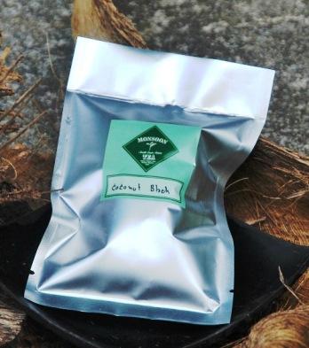 Coconut Black Tea Blend created by Monsoon Teas