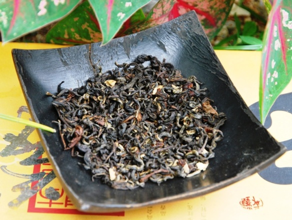 Thai black tea and flavoring agents