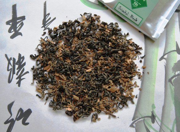 Oriental Chai Thai Black Tea Blend - dry leaves material