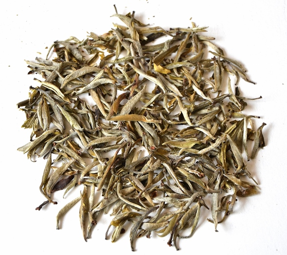 """Pure Buds of Fuding """"Da Bai"""" White Tea cultivar: Fuding Silver Needle"""
