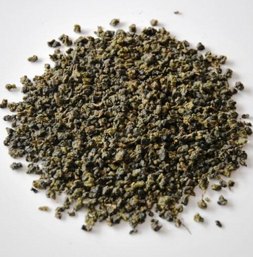 Doi Mae Salong Green Pearls, rolled green tea from Cing Xin tea cultivar