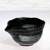 Japanese tea water cooling vessel, black, 310ml
