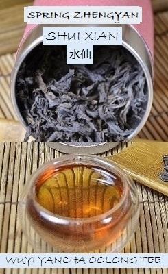 Spring Zhengyan Shui Xian Wuyi Yancha Oolong Tea