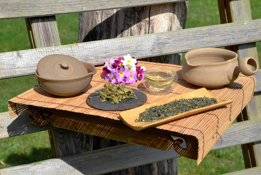 Zhejiang High Mountain Mao Feng Green Tea