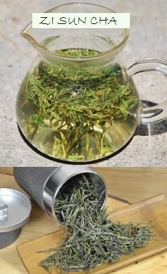 Spring High Mountain Zi Sun Cha Green Tea