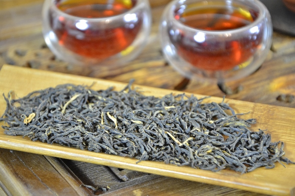 Wild Zheng Shan Jin Jun Mei Wuyi Black Tea from biodiverse cultivation