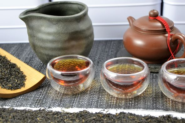 Jasmine-scented Fuding White Silver Needle tea