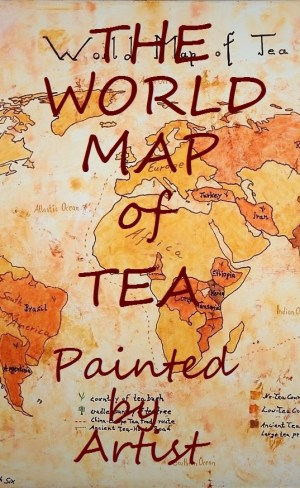 The World Map of Tea – Oil on Canvas