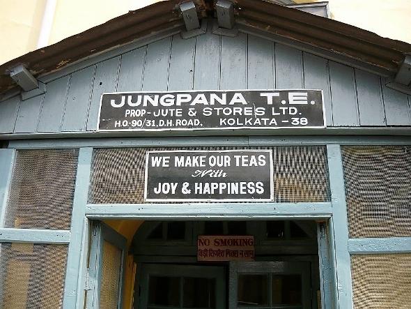 Jungpana tea estate, Darjeeling, northeast India