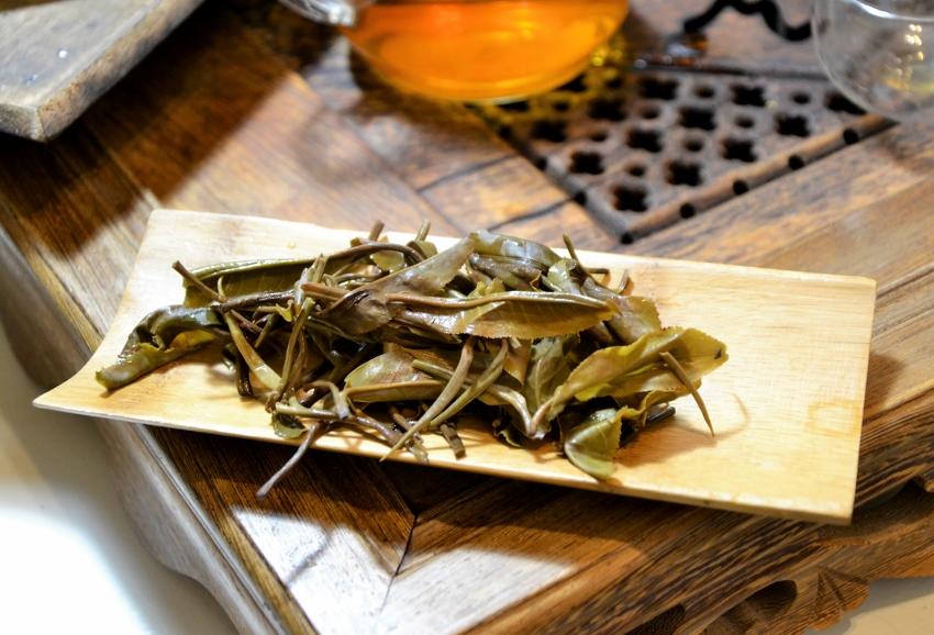 Unripened (sheng) Pu Erh Tea from Xiengkhouang, Laos