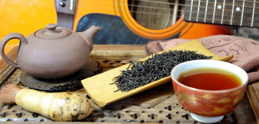 Lapsang Souchong Black Tea, unsmoked, from Zhengshan area, Wuyi Mountain, Fujian province, China
