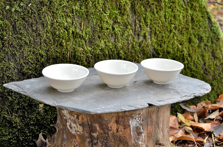 SiamTeas Signature Porcelain Tea Cup, 100% handmade according to SiamTeas specifications