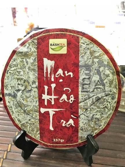 Ancient Snow Shan Sheng Pu Erh Tee / Hei Cha Tea from Vietnam, Ha Giang Province - pressed cake