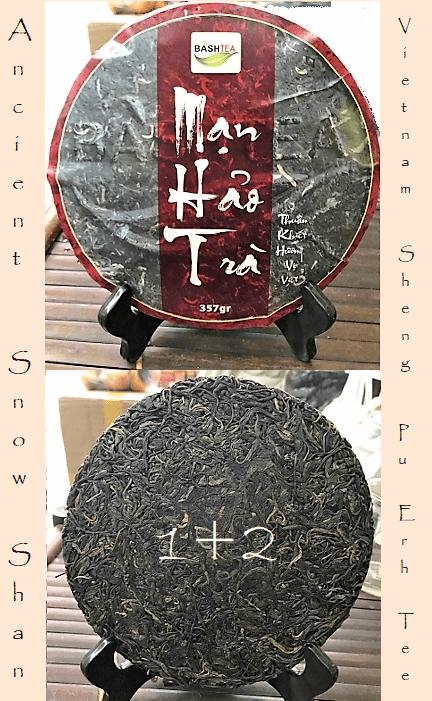 Ancient Snow Shan Sheng Pu Erh Tea 1+2