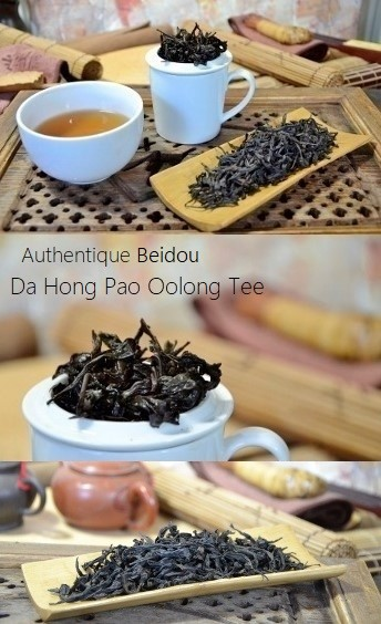 Authentic Beidou Da Hong Pao Oolong Tea from Cindy Chen, zhengyan, Wuyishan