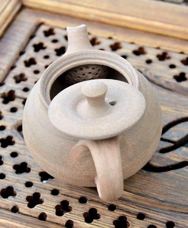 SiamTeas Signature Yixing teapot, yellow clay, unglazed