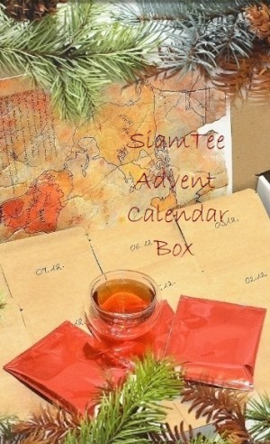 The SiamTeas Advent Calendar Box