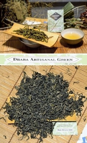 Dhara Artisanal Green Tea - Forest-Friendly Green Tea from the forests of Amphoe Mae Taeng, Chiang Mai Province, Northern Thailand