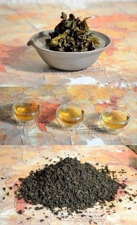 Bai Ya Qilan Oolong Tea - lightly oxidized, multiple-roast oolong tea from Daqinshan mountin in southern Fujian's Pinghe distric with special honey-sweet orchid aroma