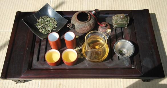 Pai Mu Tan (White Peony) white tea Gong Fu Cha
