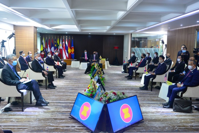 Chairman's Statement on the ASEAN Leaders' Meeting, 24 April 2021 and Five-Point Consensus