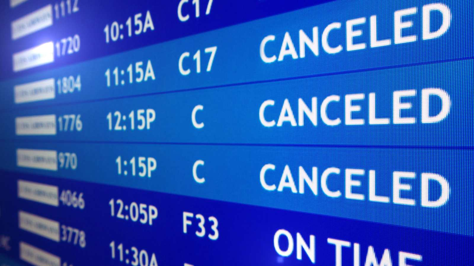 International Flights Grounded For 12 Thai Airlines Companies