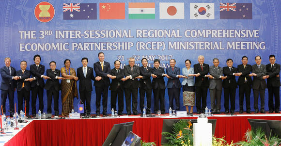 RCEP members look to catch up following TPP agreement